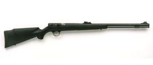 CVA's .50-caliber Buckhorn 209 Magnum. An inexpensive striker-fired in-line muzzleloader.