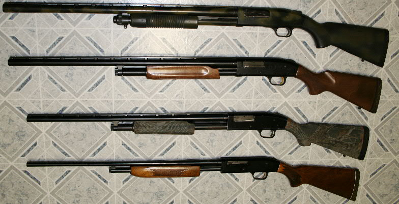 Mossberg 500 Pump Shotgun Mossberg 500 And 835 Shotguns