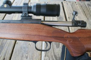 The new South Carolina made pre-64 Model 70 Winchester.
