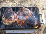 E-mail Flame flipped wild hog ribs 2