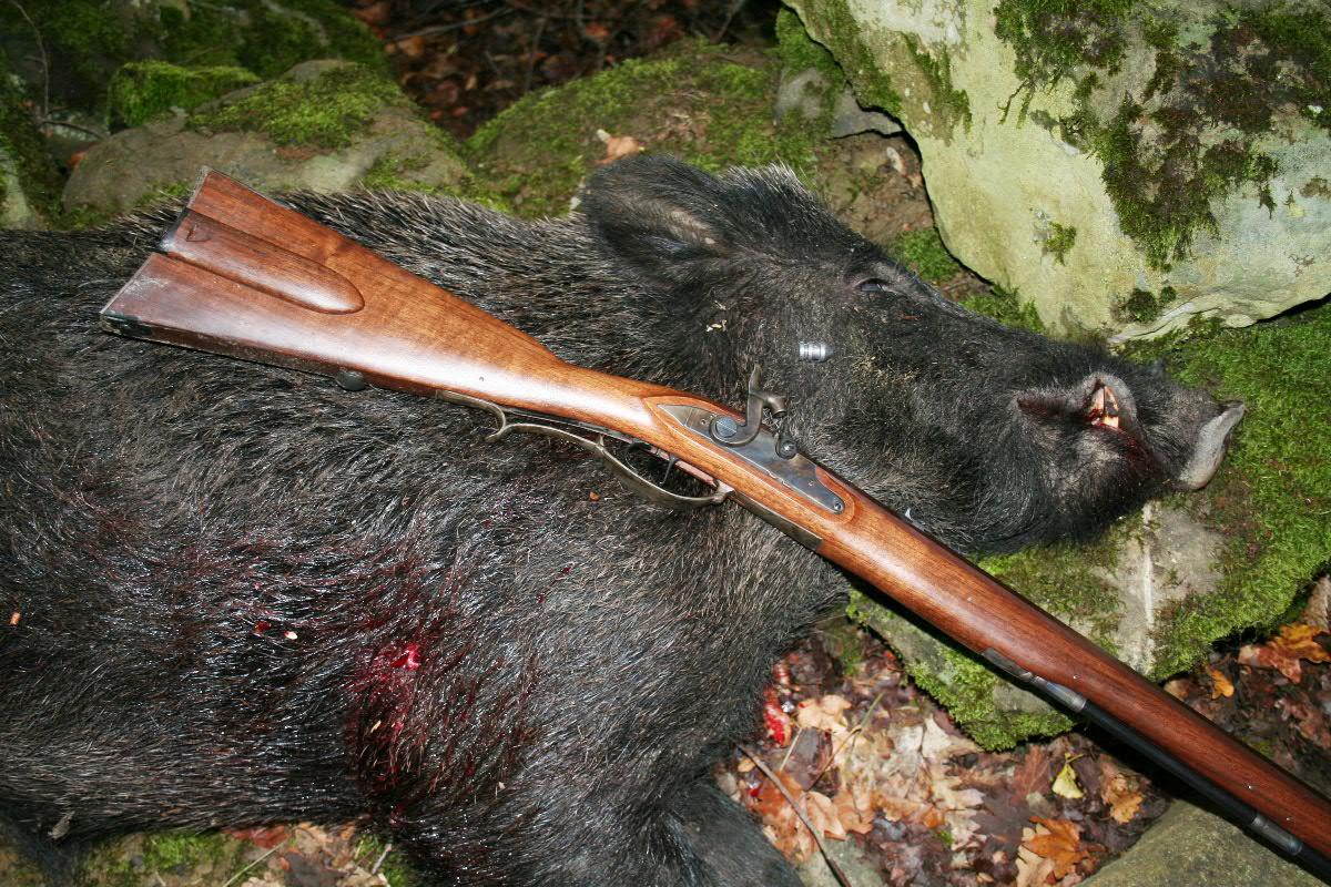A Man S Gun For A Man S Work Backyard Deer Hunting