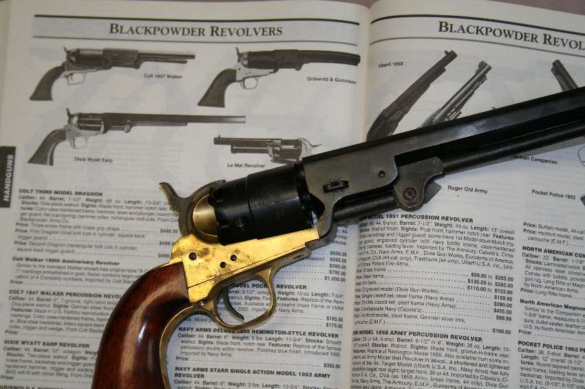 The Colt Walker and other Percussion Revolvers for Hunting Deer and