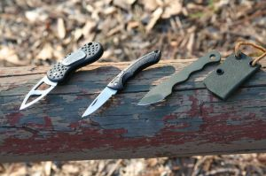 Horton, Buck and Hartsook knives used to work up Georgia deer.