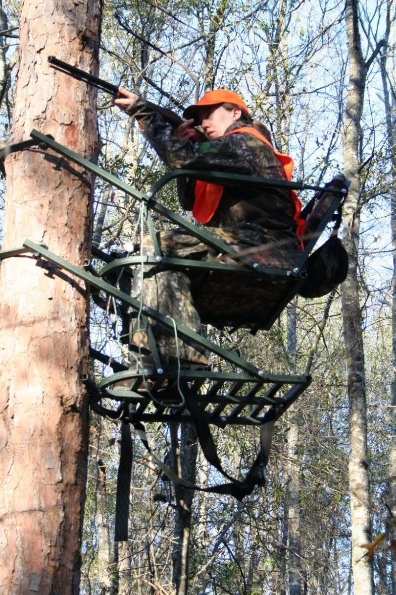 out tricked tree op blind blinds deer to electric a cherryland co how build