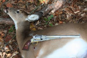 """Buffalo"" revolver with 60-lb. doe."