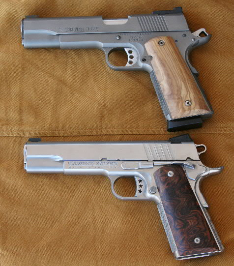 Left-handed .45 and .357 Magnum 1911 Colt Semiauto Pistols ...