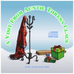 Jewel Case Insert Thresa Claus