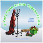 Jewel Case Insert Thresa Claus