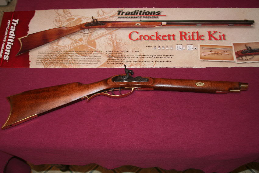 Kitchen Table Gun Building | Backyard deer hunting