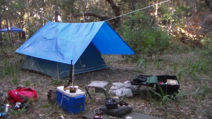 Cumberland still camp