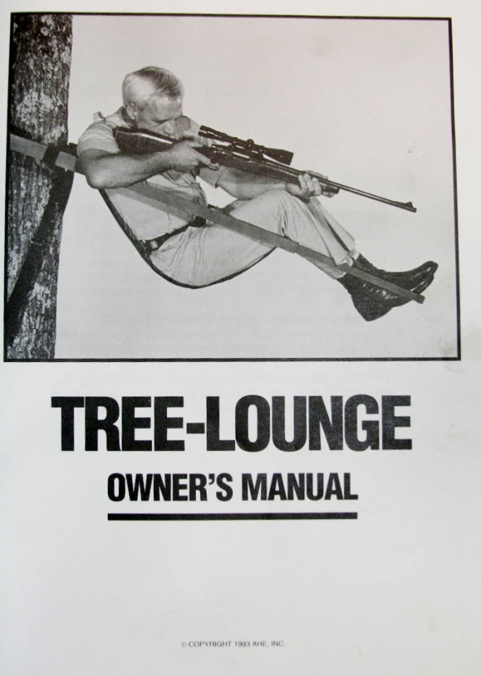 Audio Visual Tree Lounge Tree Stand Manual Backyard Deer