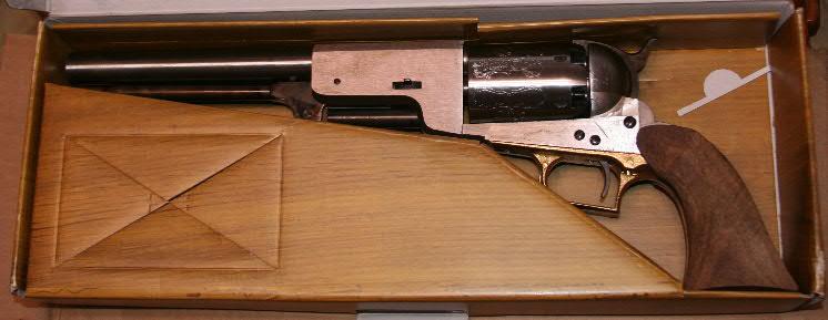 Building a Super Colt Walker Revolver from a Uberti Kit