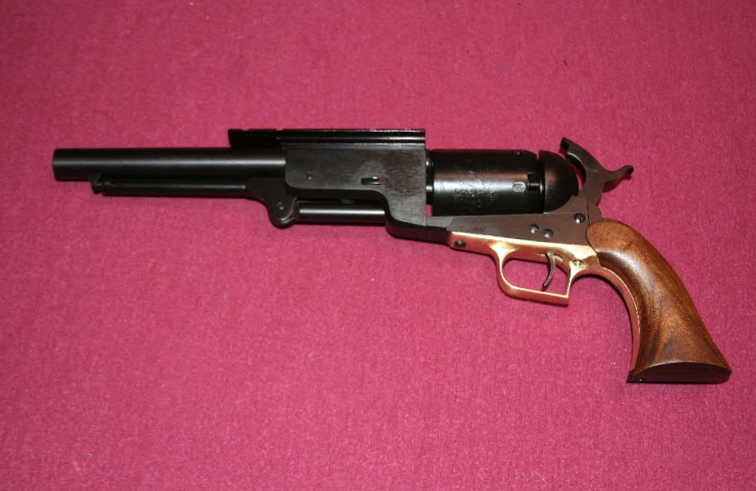 Building a Super Colt Walker Revolver from a Uberti Kit