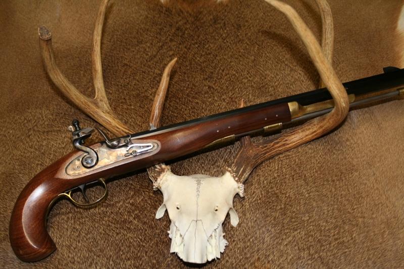 Making Pedersoli's Bounty into a Hunting Handgun   Backyard