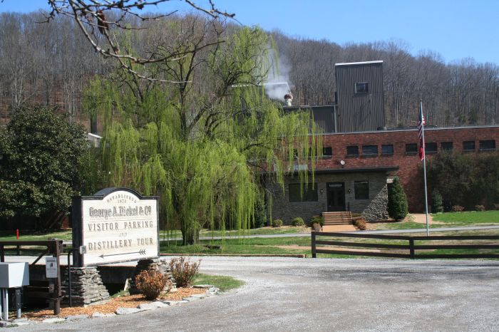 George Dickel Distillery, Cascade Hollow, Tennessee.