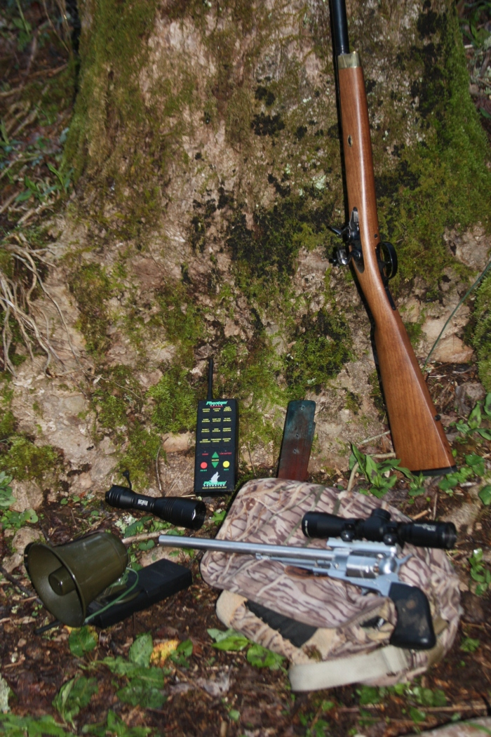 Guns and Gear at Blue Ridge WMA